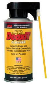 deoxit spray