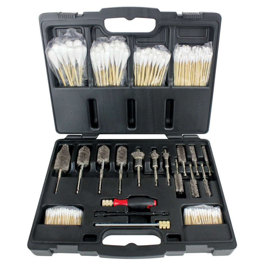 Stainless Steel Professional Diesel Brush Injector-Seat Cleaning Kit