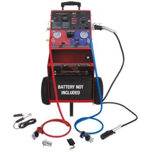 advanced, remote-controlled diagnostic trailer tester for 7-way round pin  connections